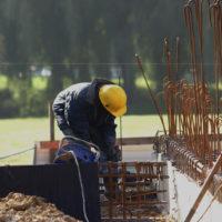 CGY Construction - Ouvrier sur le chantier
